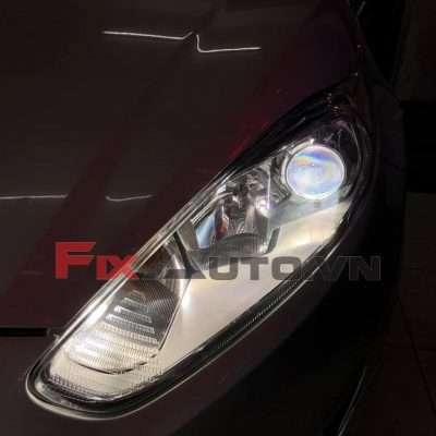 độ đèn xe ford fiesta