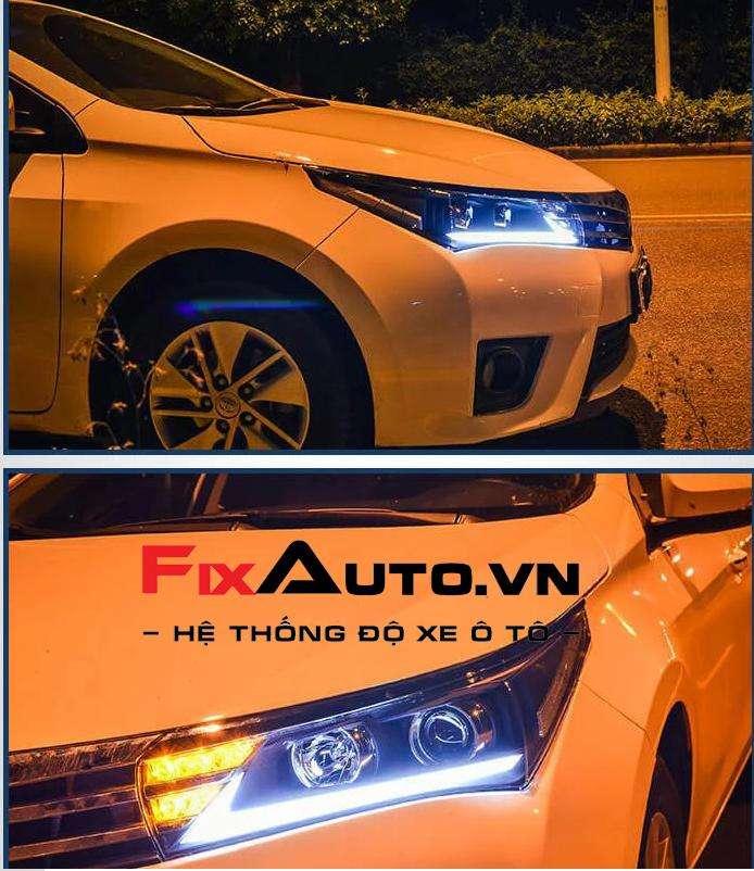 Đèn pha Altis mẫu Lexus