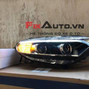Đèn pha xe Eco mẫu 4 bi