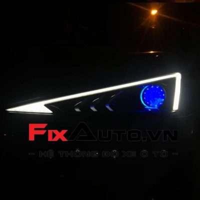 Độ đèn xe Elantra 2019
