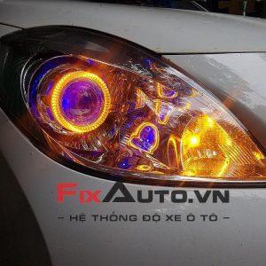 độ đèn xe Sunny