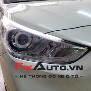 Độ đèn xe Accent
