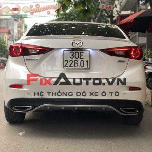 Lip pô Mazda 3