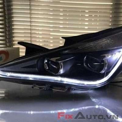 Độ đèn xe Hyundai Sonata