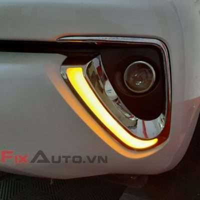 ốp led đèn gầm theo xe fortuner