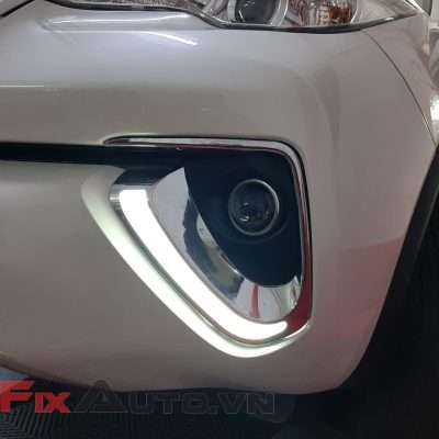 ốp led đèn gầm xe fortuner