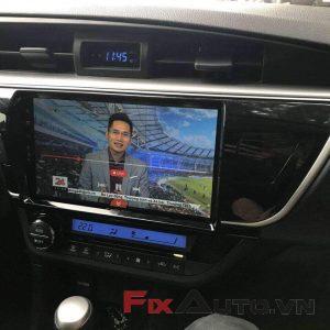 màn hình xe altis