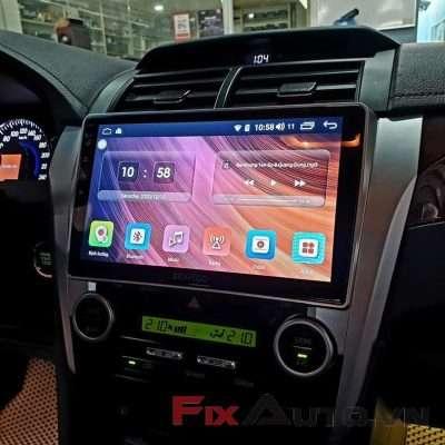 màn hình xe camry