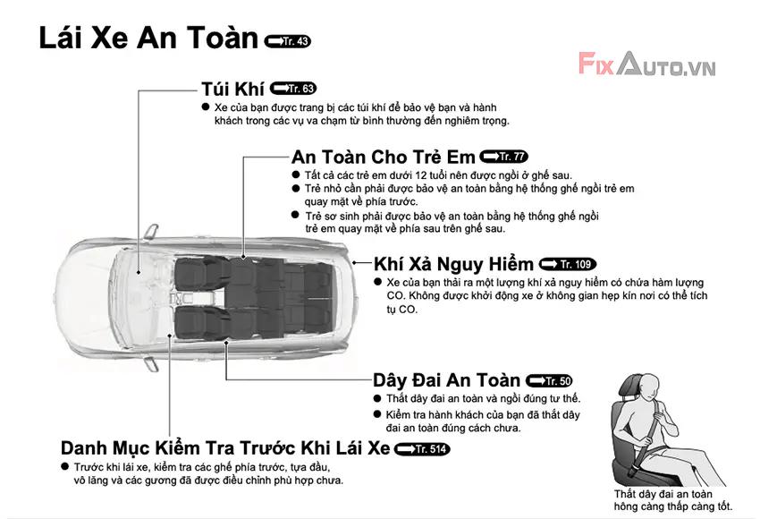 hướng dẫn lái xe ô tô an toàn