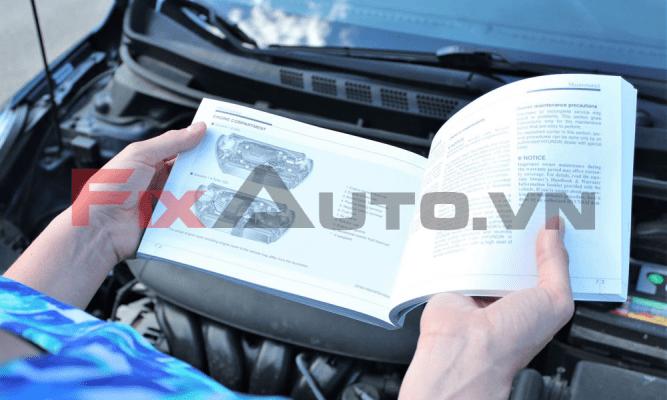 sách hướng dẫn sử dụng ô tô