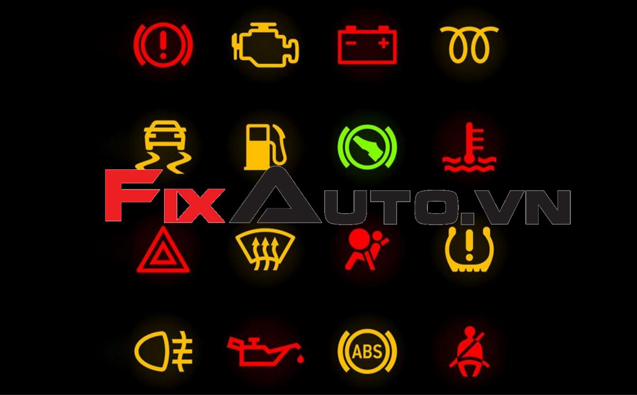 đèn báo lỗi trên ô tô