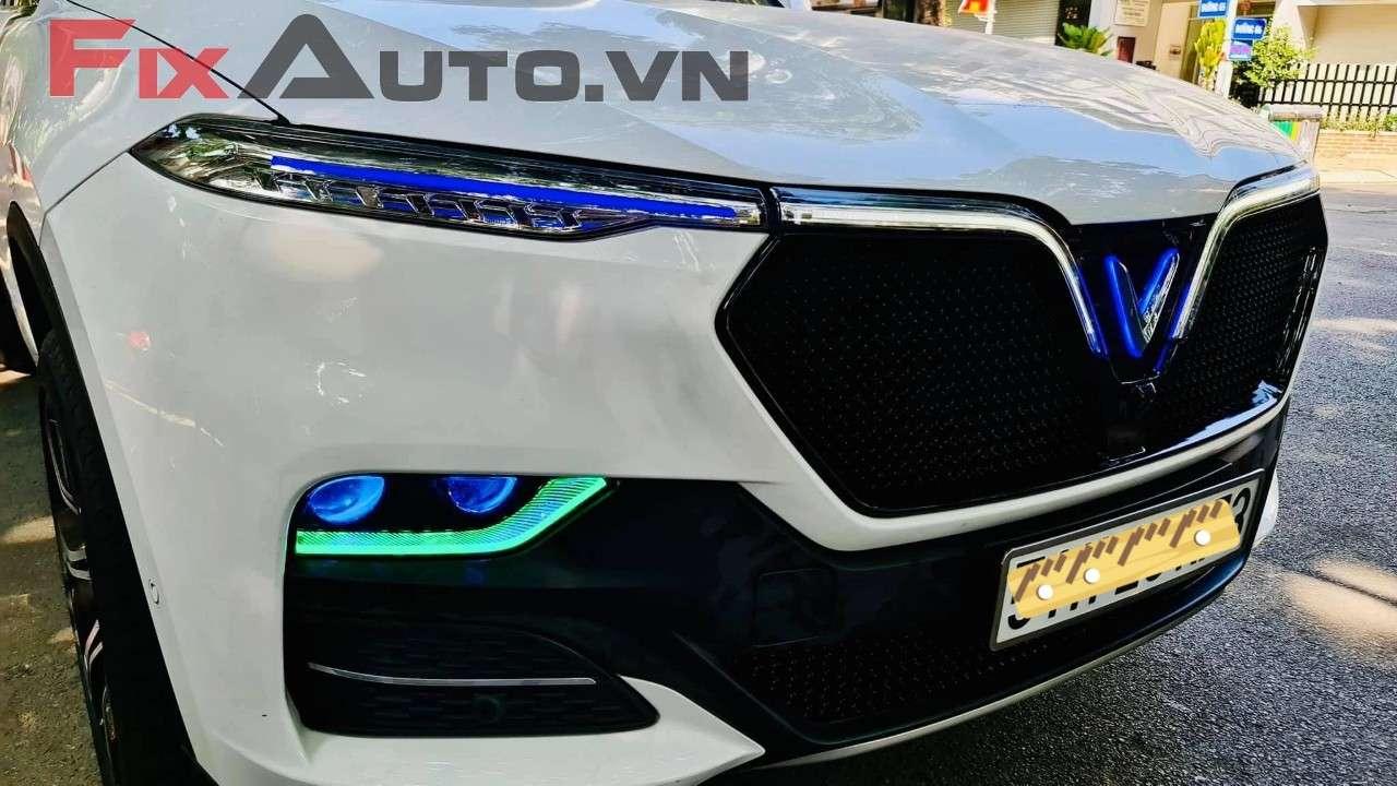 Độ đèn tăng sáng xe Lux a2.0