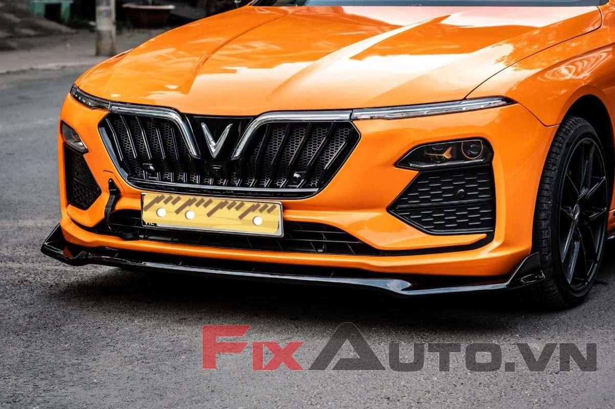 Độ mặt calang xe Vinfast Lux a2.0