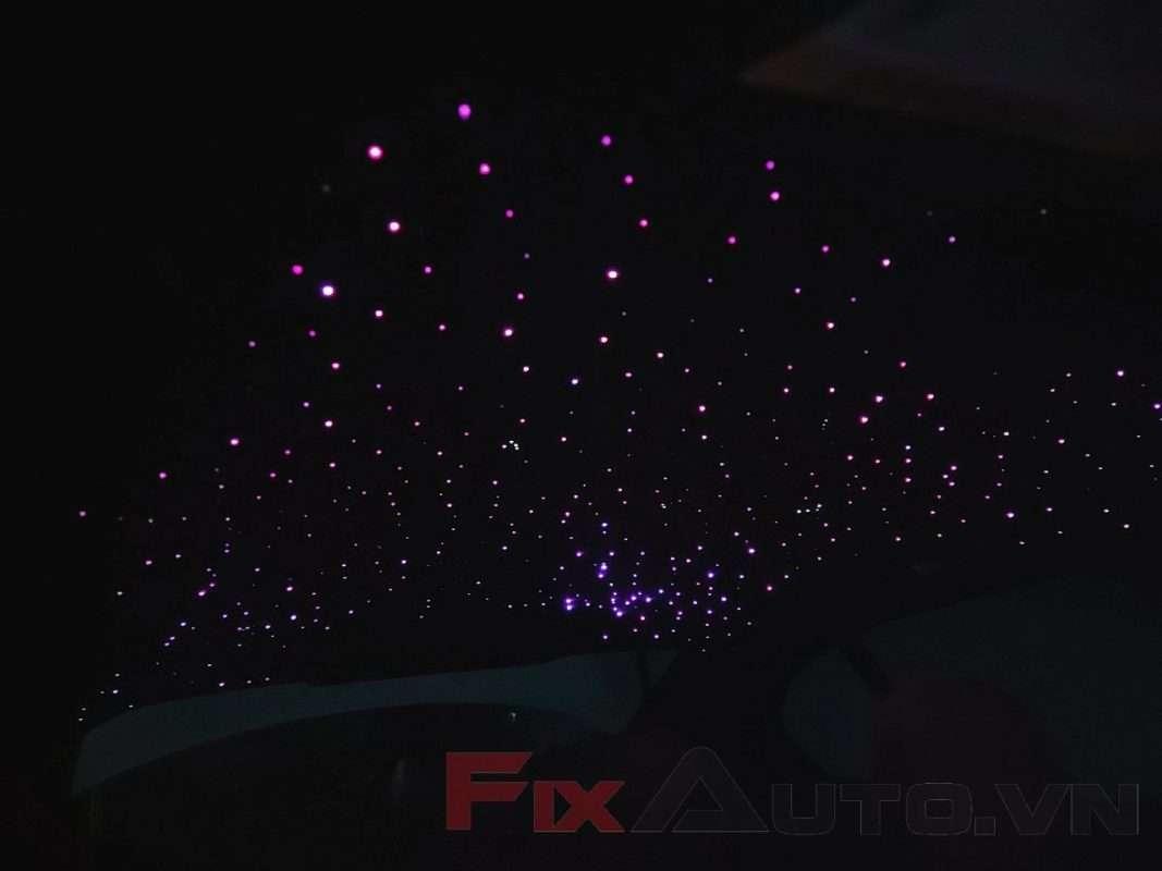 Độ trần sao rơi xe Vinfast Lux A