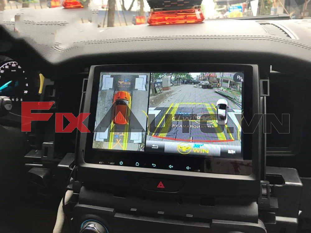 Camera 360 độ mang lại nhiều tiện ích cho ô tô