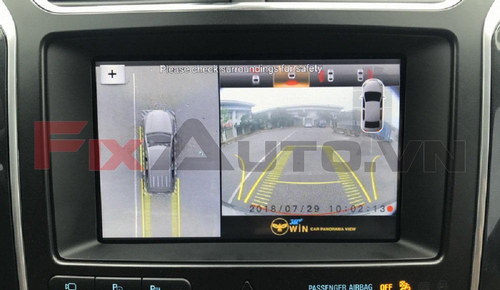 Công dụng của camera 360 dộ ô tô
