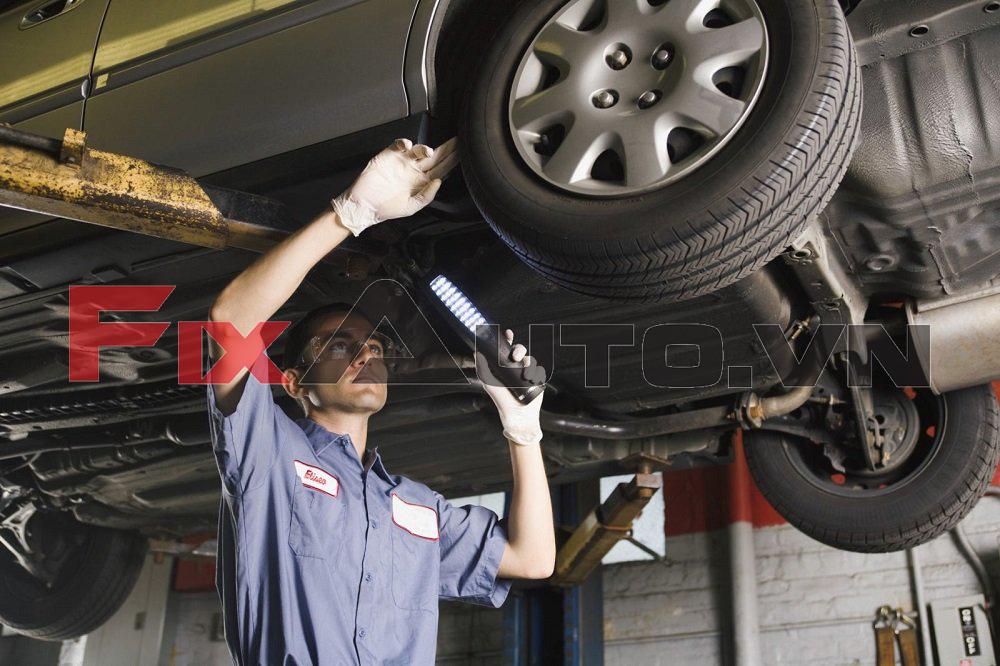 dịch vụ phủ gầm xe ô tô